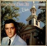 Elvis gospelt énekel...