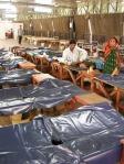 Ma már nejlonnal védik az ágyak anyagát, így a fertőtlenítés is könnyebben megoldott