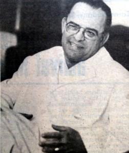 Dr. Szerdahelyi Ferenc főorvos 59 évesen a Népújság fotóján
