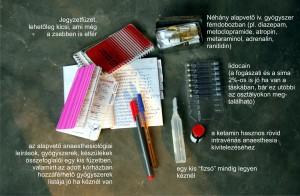 Néhány jegyzet, emlékeztető és pár gyógyszer jó ha rendelkezésre áll.